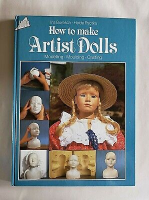 HOW TO MAKE ARTIST DOLLS GREAT GERMAN ARTIST PSOTKA   Doll Making Books