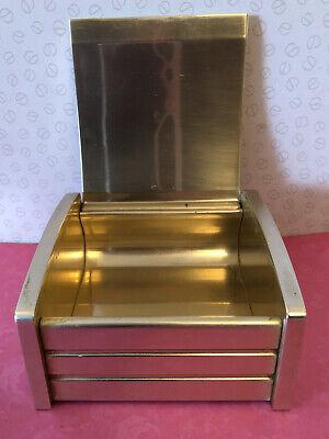 1950'S Vintage Art Deco Kaymet Anodised Ware Cigarette Box