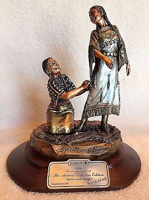 "Legends Sculpture ""SPIRIT AND IMAGE"" C. A .Pardell 1996 LE  ~CO/Orig Box~ Mint! for sale  Canon City"