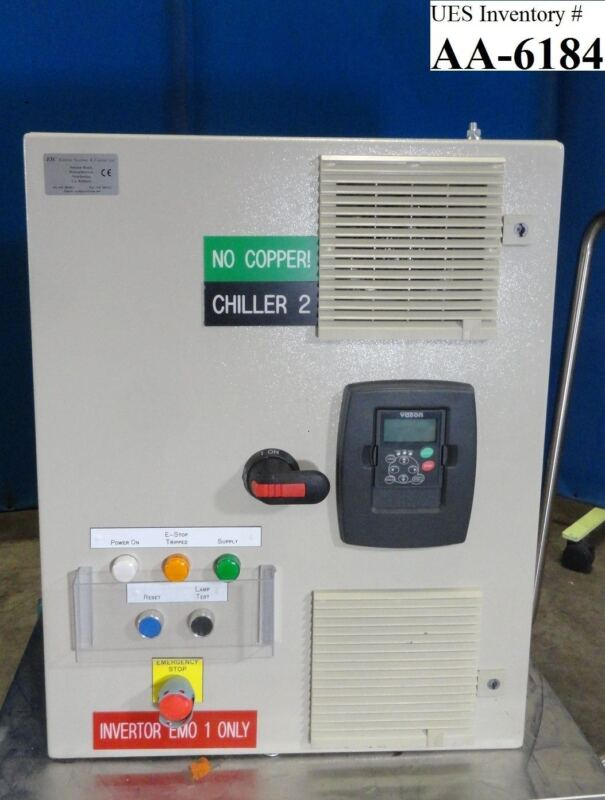 ESC Chiller Frequency Invertor Hitachi M-712E Used Working