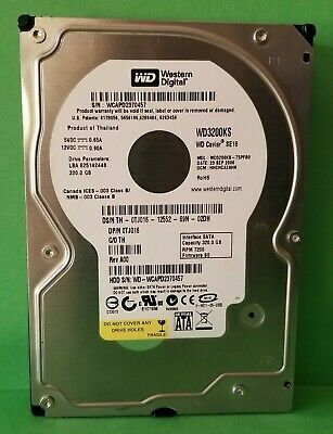 Western Digital Caviar SE16 320 GB,Internal,7200 RPM, 3.5