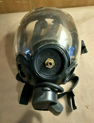Msa Cbrn Gas Mask Millennium Fits 40mm Filter Size Large - Fast Shipping