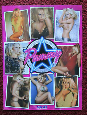 STUFF Magazine Sexy Pamela Pam Anderson A-Z ~ World's First Pamela-pedia