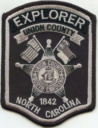 UNION COUNTY NORTH CAROLINA NC subdued EXPLORER SHERIFF POLICE PATCH