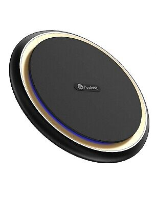 Boost 15W Fast Wireless Charger, USB-C Qi Certified Aluminum Alloy Cooling  ()