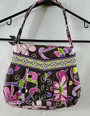 Vera Bradley Hannah Purse Purple Punch Retired