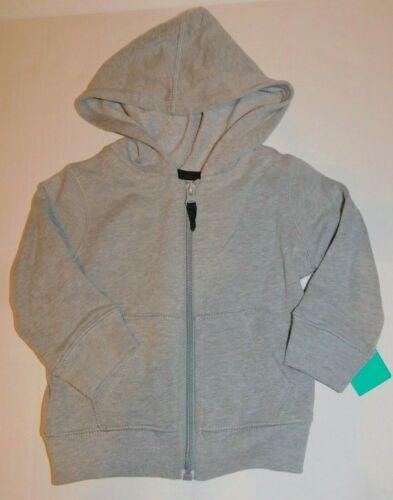 Sweatshirt Hoodie Jacket Toddler Boys 12 Months Gray