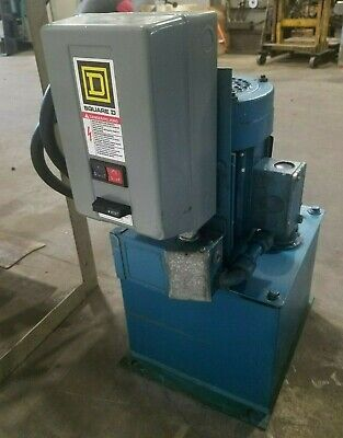 Parker Fluid Systems Hydraulic Power Supply Unit 2 Hp