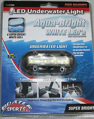 Boater Sports White LED Underwater Light