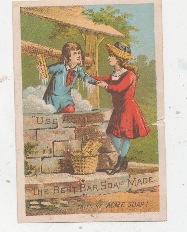 D1285  VICTORIAN TRADE CARD SOAP LAUTZ BROS