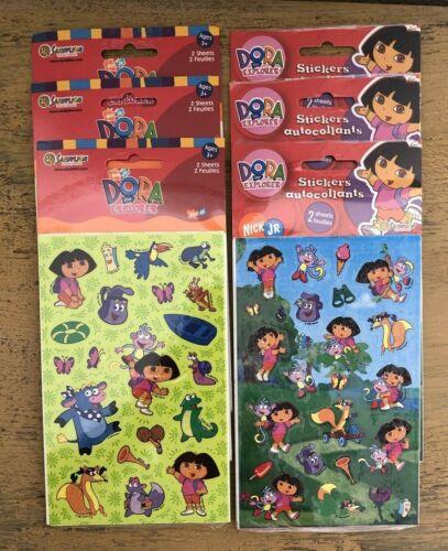 Sandylion Dora The Explorer Stickers Lot Of 6 Packs