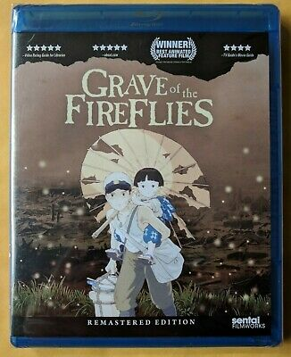 Fireflies The Movie (Grave of the Fireflies [Blu-ray] BRAND NEW!!)