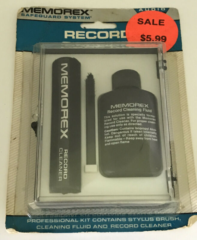 """Memorex Record Care Kit New """"Old"""" Stock Sealed"""