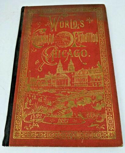 SCARCE 1893 Worlds Fair Columbian Exposition Chisholm Photographic View Album