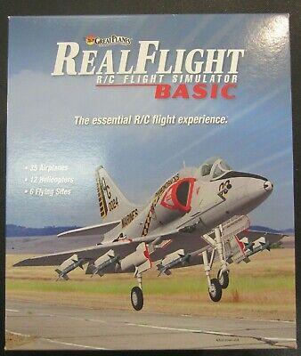 Great Planes RealFlight Basic Version w/Interlink Mode 2 Controller