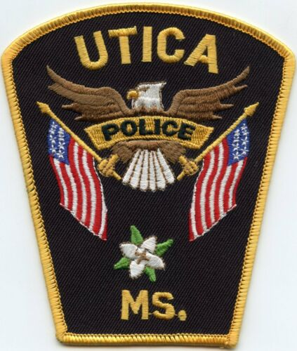 UTICA MISSISSIPPI MS POLICE PATCH