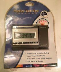 La Crosse Technology Projection Alarm Clock - Atomic Precision  #WT-5720