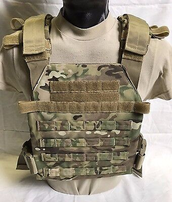 MULTICAM CONDOR SENTRY LIGHTWEIGHT PLATE CARRIER, NO INSERTS, NWOT