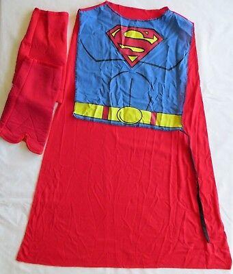 Rubie's Superman Supergirl Red Halloween Costume Cape Boy Girl Kids One - Girl Superman Costume