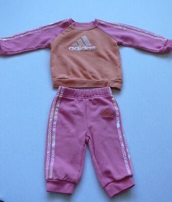 ADIDAS*Set Baby Mädchen,Pullover + Hose,Gr 62,68*6 M♥Trainingsanzug,Jogginganzug