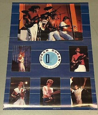 Vintage Duran Duran Poster (1984) 20x28 inches Never previously displayed