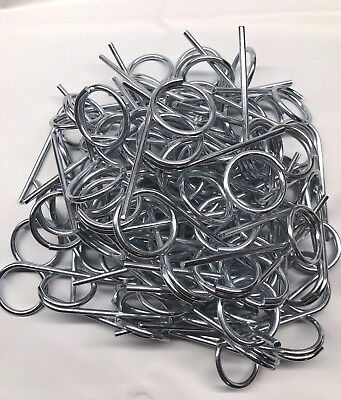 New Fire Extinguisher Pull Pins 50 Pieces Plus 100 Tamper Seals