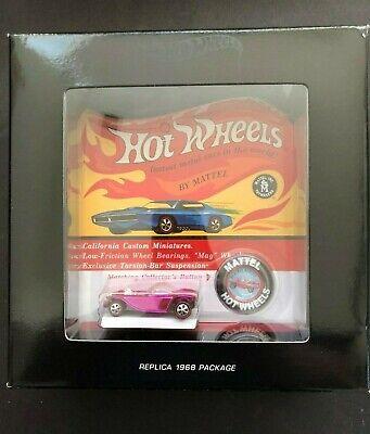 Hot Wheels Original 16 Redline Spectraflame Pink Beatnik Bandit - 1196/1800