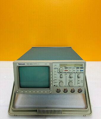 Tektronix Tds460a 4 Ch Digitizing Oscilloscope Wopt Im For Parts Or Repair