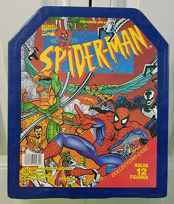 Spider-Man Action Figure Collectors Carry Case (Marvel, 1994)(GS), used for sale  Shipping to India