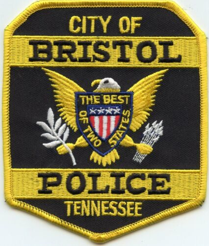 BRISTOL TENNESSEE TN POLICE PATCH