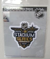 2018 NHL STADIUM SERIES WASHINGTON CAPITALS OFFICIAL JERSEY PATCH EMBLEM