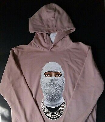 Ih Nom Uh Nit Pearl Ski Mask Gold Chain High Fashion Paris Hoodie Made In Italy