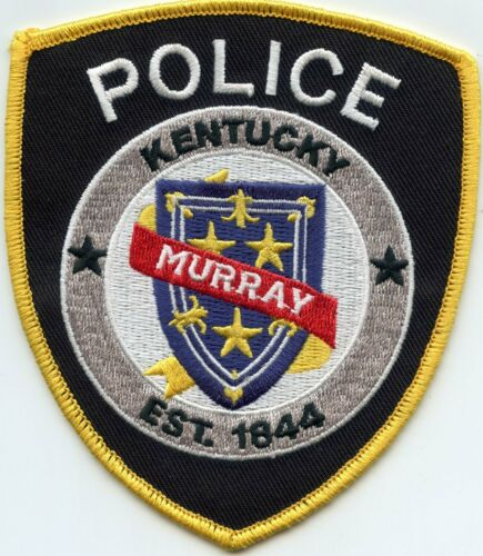MURRAY KENTUCKY KY POLICE PATCH