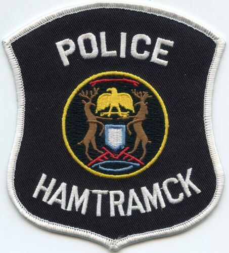 HAMTRAMCK MICHIGAN MI POLICE PATCH