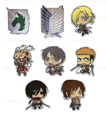 Attack On Titan Official Genuine Cosplay Anime Iron On Patch  New