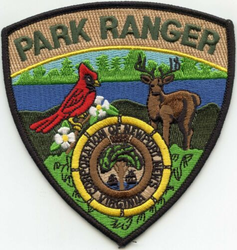 NEWPORT NEWS VIRGINIA VA PARK RANGER POLICE PATCH