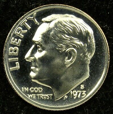 1970 P Roosevelt Uncirculated Dime ~ Raw Coin from Bank Roll