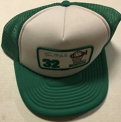 Vintage 604ms Kevin Mchale Snapback Netz Truckers Hut Boston Celtics NBA Boston Trucker Hut