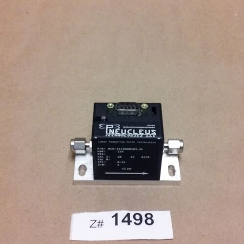 Pneucleus MCR-51C0000500-HL Mass Flow Controller with 9-Pin Connect, with Cable