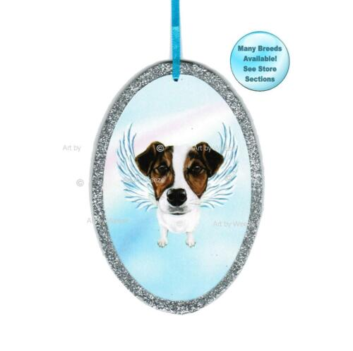 Jack Russell Terrier Angel Ornament Dog With Wings Christmas Ornament
