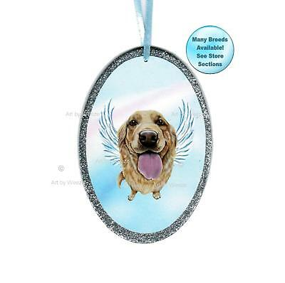 Golden Retriever Angel Ornament Dog With Wings Christmas Ornament Pet Memorial