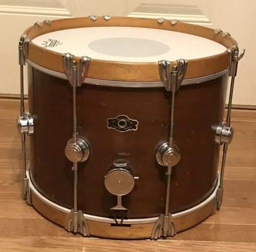 George Way Vintage 14 x 10 Marching Snare Drum, Wood Geo Way, Elkart Indiana