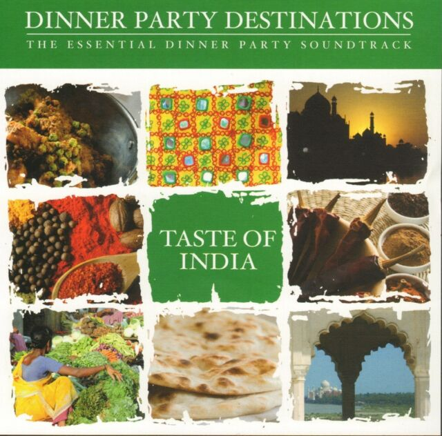 Taste of India - Dinner Party Destinations   CD !!! NEU !!!