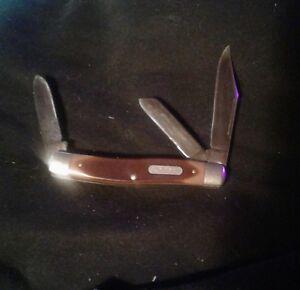 Vintage  Schrade old-timer 80T 3 bladed pocket knife