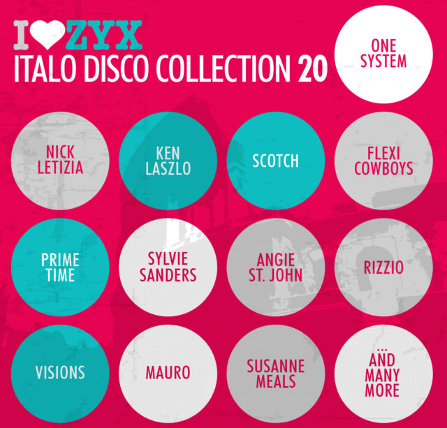 CD Zyx Italo Disco Collection 20 von Various Artists 3CDs