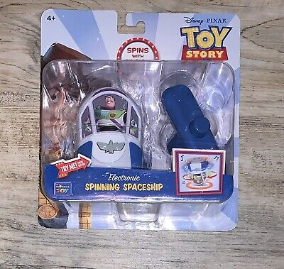 Disney Pixar Toy Story 4 Electronic Spinning Buzz Lightyear's Spaceship NEW