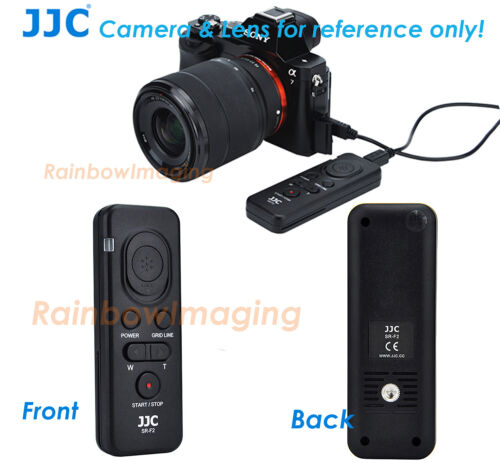 JJC Remote Commander as Sony RM-VPR1 for A99 II A77 II A68 A58 a6100 a7RIV a7s
