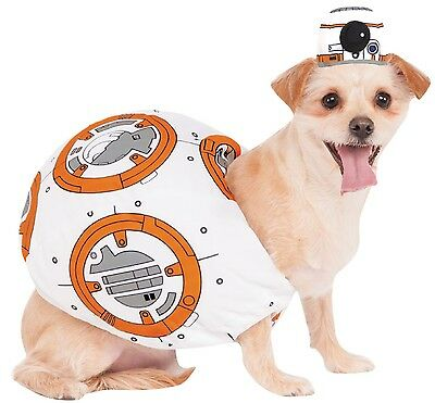 Haustier Hund Katze Offiziell Star Wars BB8 halloween kostüm outfit verkleidung
