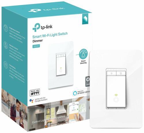TP-Link Kasa Smart Wi-Fi Dimmer Light Switch Alexa Google Refurbished | HS220