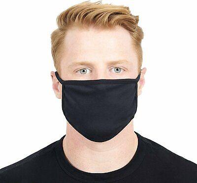 Soft Cotton Face Mask Double Layer Fashionable Reusable Cloth Washable Men Women Accessories